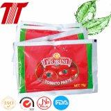 Sachet de vente chaude 70 g de purée de tomate pour les grossistes