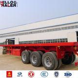 China maakte Flatbed Semi Verkoop van de Aanhangwagen aan Afrika