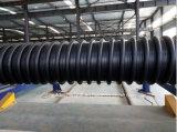 Sehr große Durchmesser-Plastikwicklungs-gewölbte Rohr-Maschine