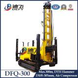 Буровая установка Dfq-300 DTH для расточки отверстия Bore утеса и воды