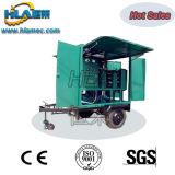 Máquina móvil del filtro de aceite del transformador del vacío del acoplado