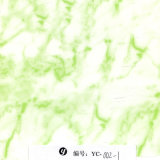 Yingcai 1m Wide Green Marble Vente en gros de transfert d'eau Film d'impression