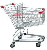 De Boodschappenwagentjes van de Supermarkt van het Chroom van het zink met de Zetel van de Baby