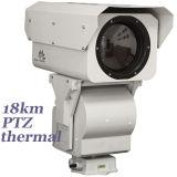 Длинный диапазон PT IR тепловой обработки изображений с камеры 190мм объектив для 18км обнаружение