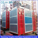 Ce Certificated MID Speed ​​0-63m / Min Construction Lift avec Frequency Inverter