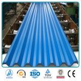 Цинк PPGI Prepainted стальной рифленой кровельных листов для строительного материала
