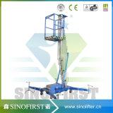 piattaforma di lavoro aereo dell'elevatore dell'albero della lega di alluminio di 4m-12m una