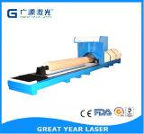 Láser rotativo automático Máquina de troquelado de cartón Corruguated
