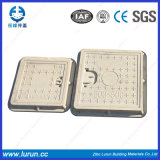 Casting C / O 350X350mm Carrés / Round Composite Manhole Covers