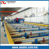 Mg Profile Extrusion Tables in Aluminum Extrusion Machine