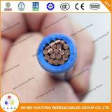 fio de construção Certificated UL do encalhamento Cu/PVC/Nylon Calibre de diâmetro de fios 600V 8