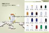 Grüne lebensmittel-Zusatzstoff-Großhandelsflasche des Haustier-120ml Plastikmit Schutzkappe
