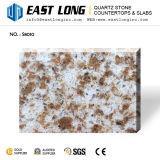 Искусственние слябы камня кварца цвета гранита для Kitchentops/верхних частей тщеты с Cut-to-Size