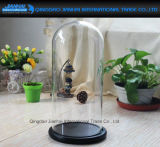 型の余分円のガラス表示Clocheのガラス鐘