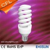 세륨 RoHS는 100% 3 색 CFL 가벼운 가득 차있는 나선 20W 25W 30W E27 에너지 절약 램프를 승인했다