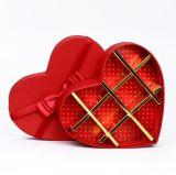 Réseaux chauds de la vente 18 de boîte de papier en forme de coeur à chocolat, cadre de empaquetage en forme de coeur, boîte à sucrerie