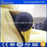 Промышленный гибкий обернутый шланг Sandblast крышки резиновый