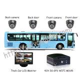 4channel de la gasolina de los coches teledirigidos móviles autobús escolar DVR-Venta caliente!