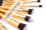 Poils Synthétiques Private Label 10pcs ensemble de la brosse de maquillage utiliser Face Brosse brosse cosmétiques