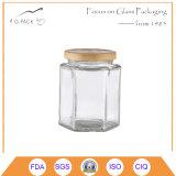 300ml hexagonale Kruik met Metaal GLB