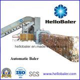 컨베이어 (HFA13-20)를 가진 Hellobaler 폐기물 마분지 짐짝으로 만들 기계