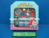 Conjunto educativo de mobiliário de presente de brinquedo de plástico (082480)