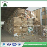 Carta straccia che ricicla la macchina della pressa per balle in Cina
