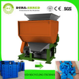 Dura-Destrozar el precio de reciclaje plástico inútil de la máquina