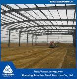Фабрика стальной структуры сделанная стального луча с сертификатом ISO
