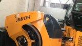 Rodillo de camino doble hidráulico lleno del tambor de 13 toneladas (JM813H)
