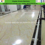 PVC 모조 대리석 장 기계장치 또는 돌 단면도 기계장치 생성