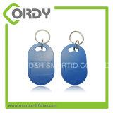 アクセス制御のための13.56MHz RFID主FOB Keychain