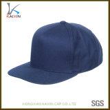 Chapeaux et chapeaux en gros de Snapback de plaine de blanc de bleu marine