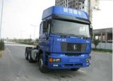 Shacman 10の荷車引きのトラクターのトラックヘッド