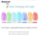 Lámpara LED de colores de ultrasonidos DIFUSOR de ACEITES ESENCIALES (TA-004)