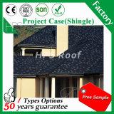 Couvrir en acier enduit de bardeaux de tuiles de toit en métal de pierre de matériau de construction