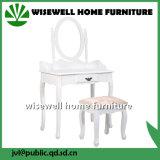 أثاث لازم حديثة [درسّينغ تبل] خشبيّة مع كرسيّ مختبر ([و-ه-031])