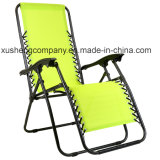 Portable Texilene confortable chaise pliante pour le salon de jardin