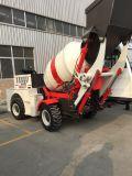 1.0cbm diesel de auto carga móvil Camión mezclador de concreto