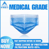 Adulto no local médicos descartáveis de protecção cirúrgica de Máscara