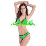 Eingefaßter reizvoller Bikini für Frauen
