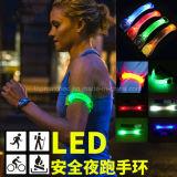Blinkende LED-Multifunktionsarmbinde für das Laufen