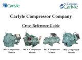 compressori di 06em150 Carlyle (elemento portante) (15HP) per il condizionamento d'aria medio di temperatura