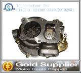 OEM 124100-3340 히타치 Ex220-5를 위한 09102801의 엔진 부품 터보 충전기