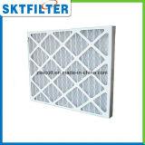 Filtro Foldaway dall'accumulazione di polvere dell'aria pre