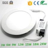 LEDのパネル照明SGSは製造業者を修飾した