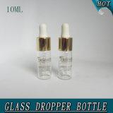 Bouteille de bouteille de verre vide de 10 ml Transparent Perfume