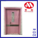La entrada de vidrio de buena calidad, diseño de la puerta de seguridad de acero