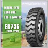 Gummireifen des Bergbau-1000r20 weg von den Straßen-Reifen-Radialgummireifen-LKW-Reifen mit hochwertigem
