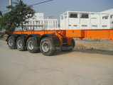 Semi-Trailer esqueletal do recipiente de 40feet 4axles